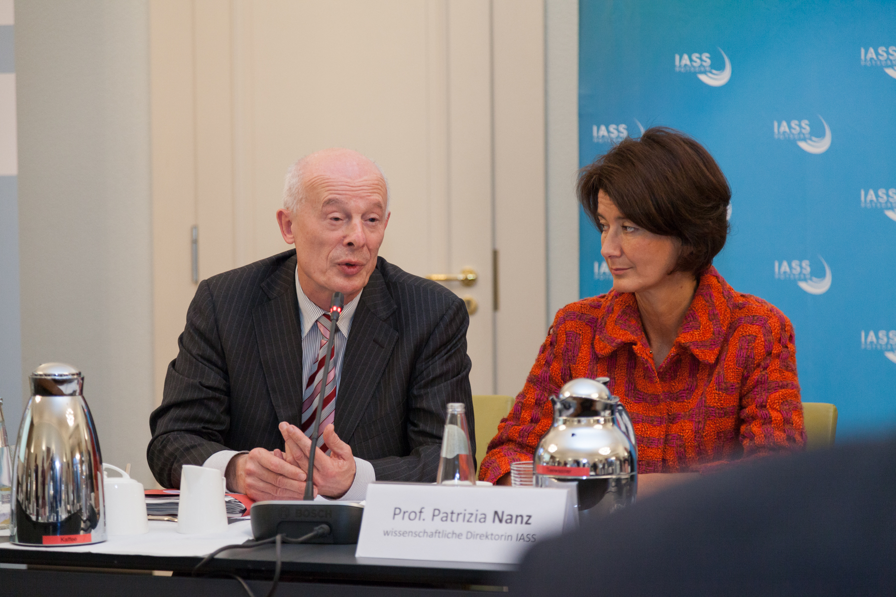 PIK Director Hans Joachim Schellnhuber and IASS Director Patrizia Nanz outline their proposal for a Future Commission for Brandenburg