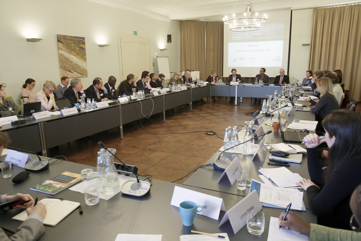 Potsdam Ocean Governance Workshop - Plenary