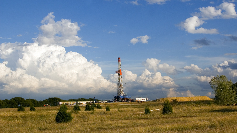 Natural gas production in Texas: According to a new study, methane leaks are common.