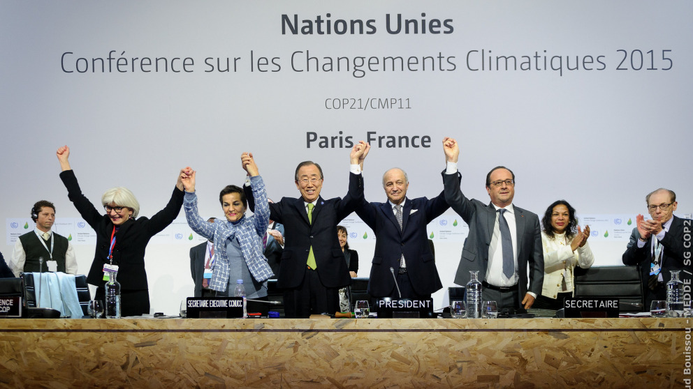 Paris Agreement in 2015 - it offers hope by promising a more democratic climate politics