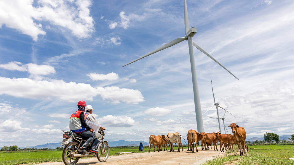 Vietnam has great potential for renewable energy projects, but the power sector is still dominated by fossil fuels.
