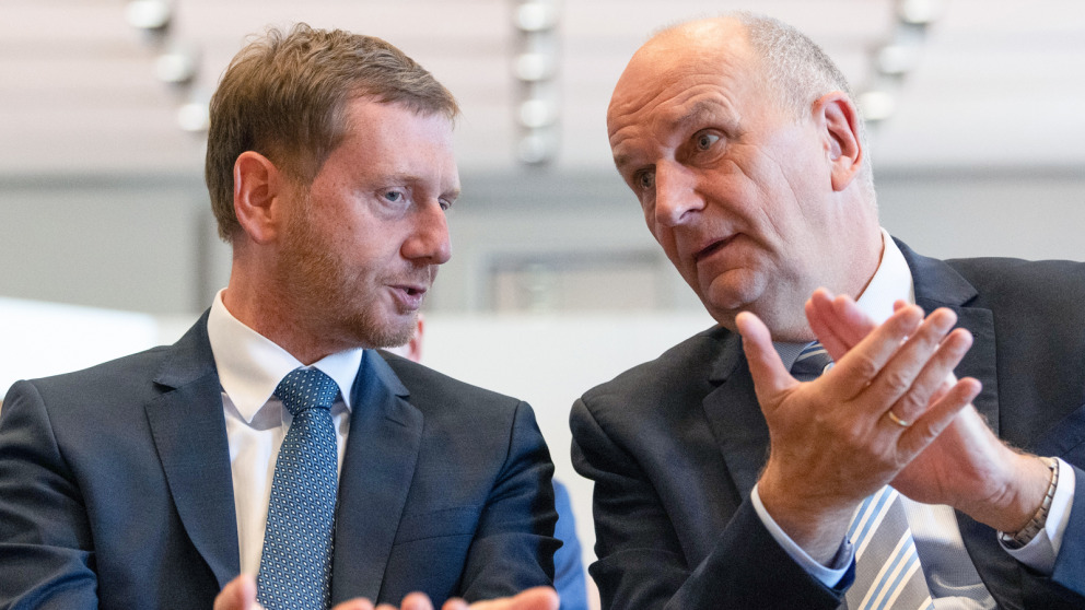 Victors by the skin of their teeth: Governors Michael Kretschmer and Dietmar Woidke will probably stay in office.
