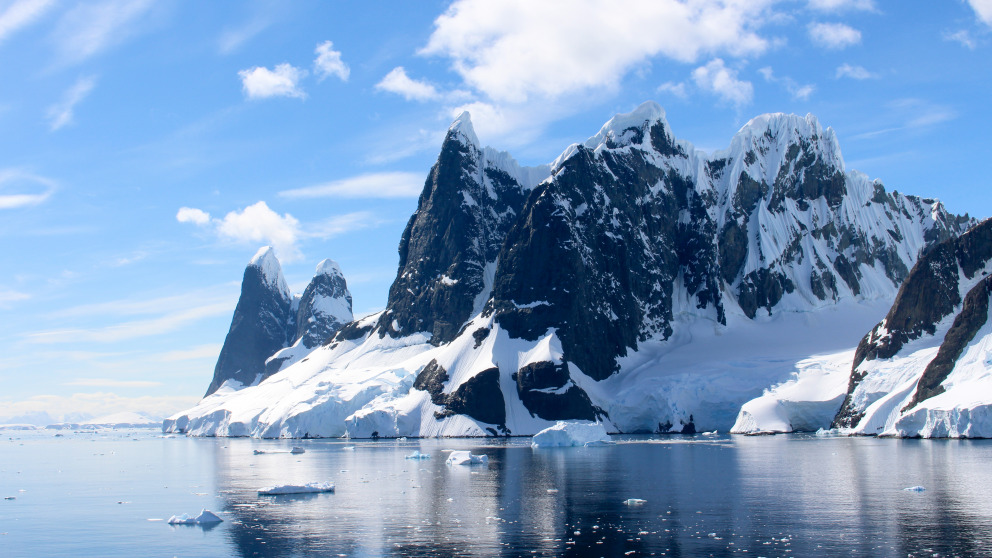 Antarctica offers the participants an opportunity to observe first-hand the influence of human activities on the environment.