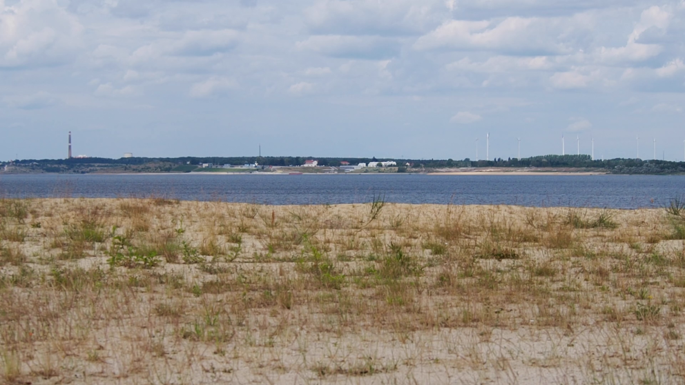 Back to nature? Some opencast mines in Lusatia have been turned into lakes.