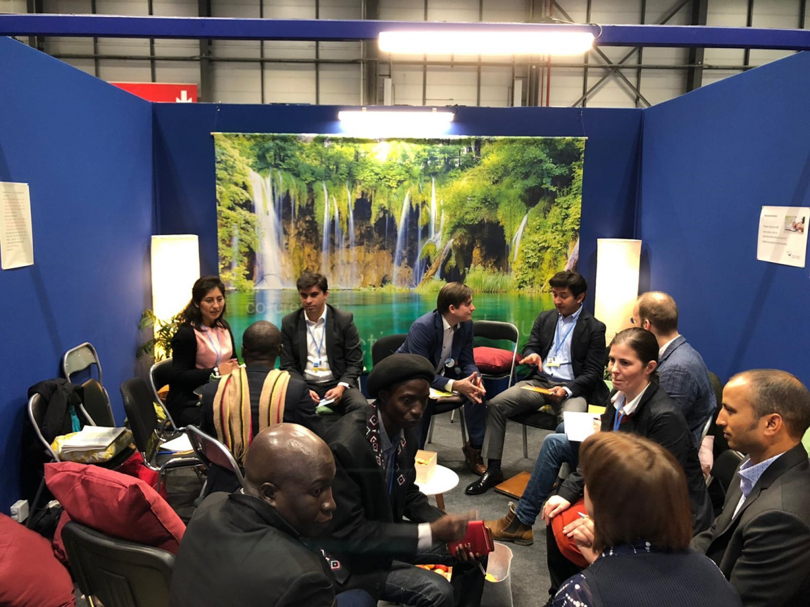Reflection and Dialouge Space at the COP25
