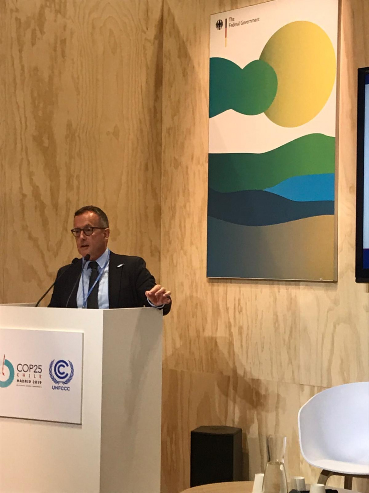 Thorsten Thiele at COP25 Oceans