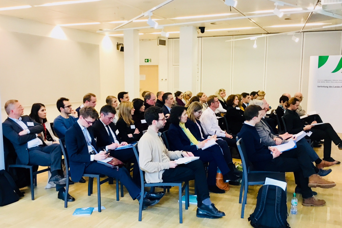Around 50 stakeholders from the policy community, science, civil society and business attended the event organised by the IASS and the Heinrich Böll Foundation France in Brussels.