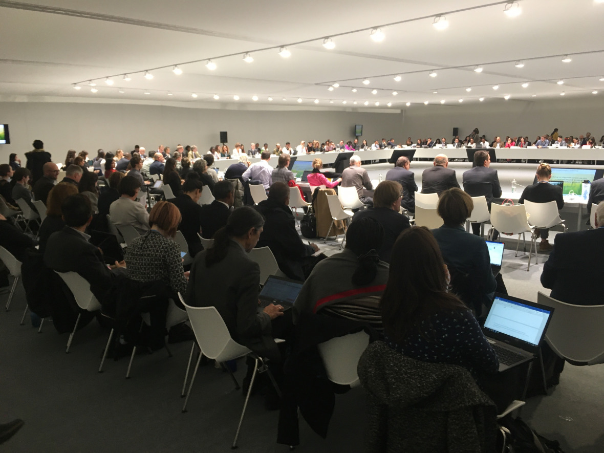 The technical working group on agriculture at COP25