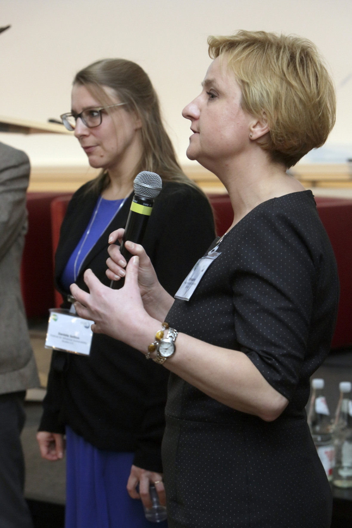 Daniela Setton and Ira Matuschke (both IASS)