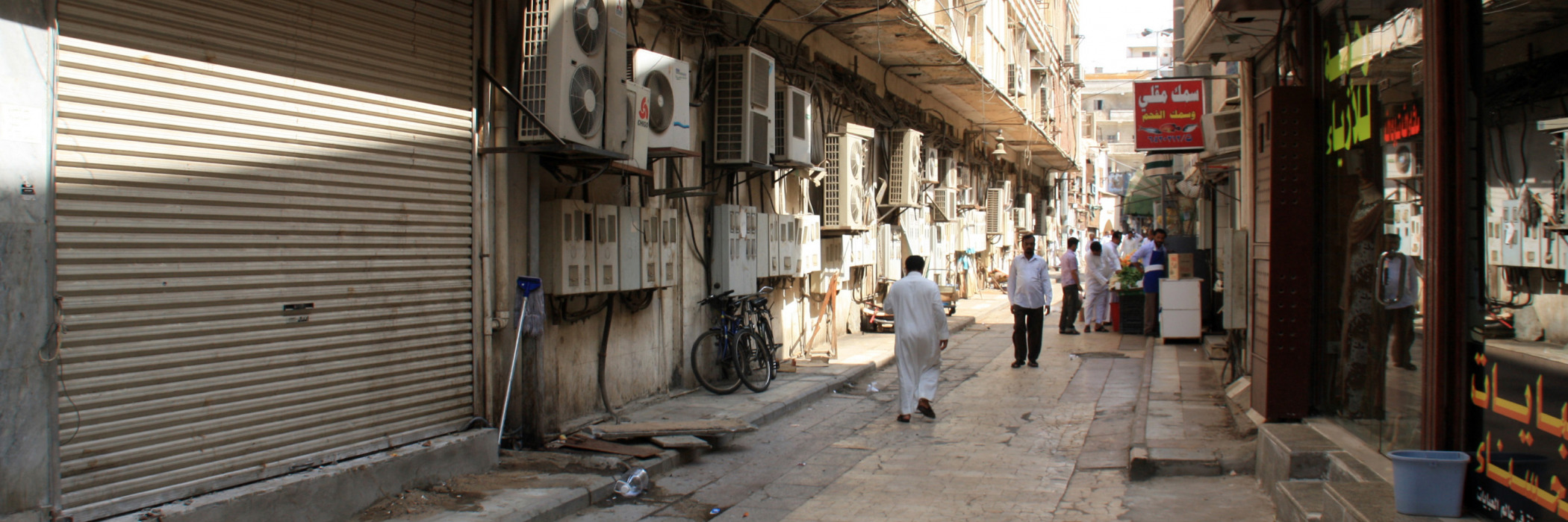 A street in Jeddah, Saudi Arabia: As the world decarbonizes, it does not necessarily become more democratic.