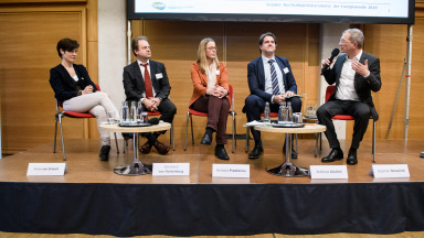 Panel discussion Social Sustainability Barometer for the German Energiewende 2018 Bild 2