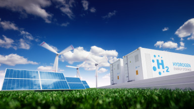 Green hydrogen based on renewable energies can contribute to the energy transition.