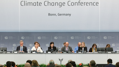 Measures against climate change are being discussed in Bonn.