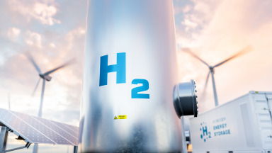 Germany has to buy a large part of its green hydrogen from wind- and sun-rich regions of the world.